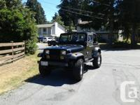 Make Jeep Model YJ Year 1993 Colour Black kms 40000