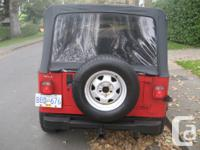 Make Jeep Year 1993 Colour RED Trans Manual kms 200000