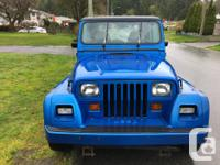 Make Jeep Model YJ Year 1993 Colour Blue kms 301000