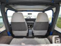 Make Jeep Model YJ Year 1993 Colour Blue kms 251000