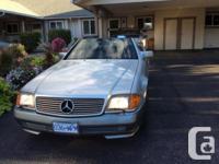 Make. Mercedes-Benz. Version. 500 Series. Year. 1993.