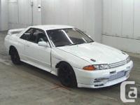 1993 Nissan Skyline GTR RB26dett, twin turbo engine,