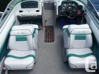 20 ft., Open Bow, 4.3 V6 Merc Cruser. Tiing and Bimini