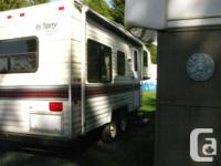 1993 21.5 terry resort 5th wheel.New roof and new