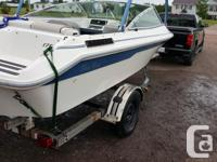 93 sea ray bowrider works awsome gets up on the water