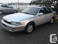 Make Toyota Model Camry Year 1993 Colour silver kms