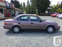 Make Toyota Model Corolla Year 1993 Colour Brown kms