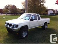 Lethbridge, AB 1993 Toyota T100 SR5 Pickup Truck This