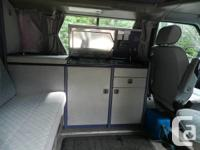 1993 Volkswagen Eurovan Westfalia camper. Winter is a