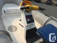 Converted 13' Seadoo with custom aluminum hull and