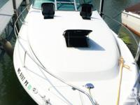 Offering our 1994 SeaRay 290 Sundancer Black and also