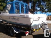 1994 Campion 18-8 Explorer ,runs great. Motor is a