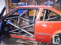 1994 cavalier project car. mild steel, round tube