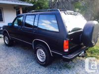 Make Chevrolet Model Blazer Colour Black Trans