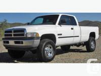 Nelson, BC 1994 Dodge Ram 2500 SL Pickup Truck Stock