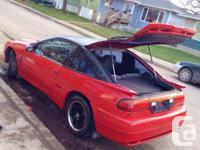 Make Eagle Model Talon Year 1994 Colour Red Trans for sale  Saskatchewan