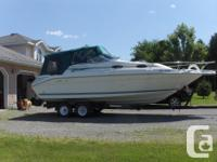 25' Searay Express Cruiser - has 330 HP - 392 Hours -
