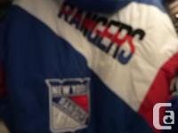 Rangers 1994 Stanley Cup Embroidered Jacket Excellent