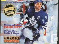 1994 Post/Kraft NHLPA magazine with Doug Gilmour of the