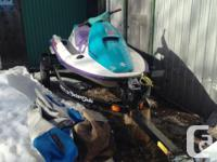 Selling our 1994 seadoo with the cover and trailer