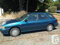 1994 Subaru Impreza L hatchback wagon. ** JUST 136,000