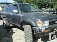 1994 Toyota 4 Runner Automatic 178,000 Miles Will post