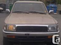 Price:3100$  Year:1994 Make:Toyota Model:4Runner