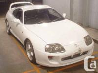 1994 Toyota Supra MK4 HKS single turbo conversion, A/M