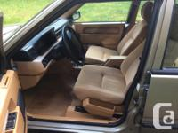 Make Volvo Model 940 Year 1994 Colour Gold kms 177500