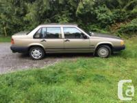 Make Volvo Model 940 Year 1994 Colour Gold kms 177000
