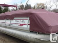This Pontoon Boat just came in April 15th & ready for