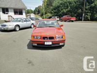 Make BMW Model M3 Year 1995 Colour Red kms 180000