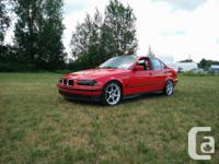 Make BMW Model M3 Year 1995 Colour Hellrot Red kms