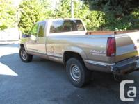1995 chev 2500 4X4 6.5 litre turbo diesel prolonged