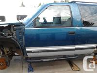 I am parting out a 1995 chevy tahoe I have the