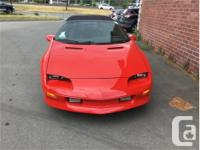 Make Chevrolet Model Camaro Year 1995 Colour Red kms for sale  British Columbia