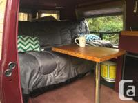 1995 Chevrolet Camper G20 in Great Condition // w/