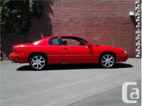 Make Chevrolet Model Monte Carlo Year 1995 Colour Red