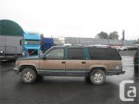 Make Chevrolet Model Suburban Year 1995 Colour
