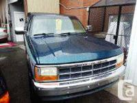 1995 DODGE DAKOTA  4X4 150KKm     Canopy  Extended cab