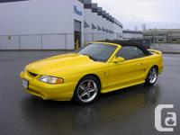 For sale is a 1995 Ford Mustang GT, this car has been