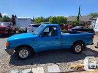 Make Ford Model Ranger Year 1995 Colour Blue kms