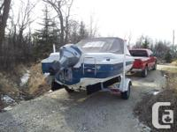 Boat is in good condition with full removable cover.