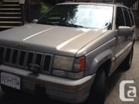 1995 jeep marvelous Cherokee for sale in October!