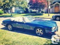 1995 Jaguar convertible in great shape 102k miles on