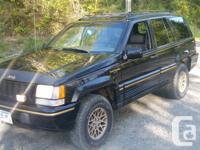 Make Jeep Model Grand Cherokee Year 1995 Colour Black