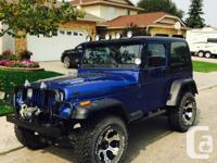 Make Jeep Model YJ Year 1995 Colour Blue kms 165000