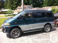 1995 Mitsubishi Delica Spacegear L400, 8 seated model