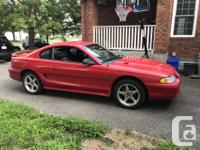 Make Ford Year 1995 Colour Red kms 247500 Trans Manual