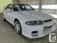 1995 Nissan Skyline GTR 2.6 L double turbo engine,